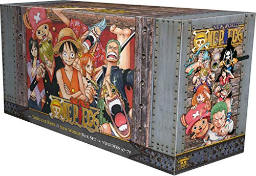 One Piece Box Set 3: Thriller Bark to New World, Volumes 47-70: Oda, Eiichiro