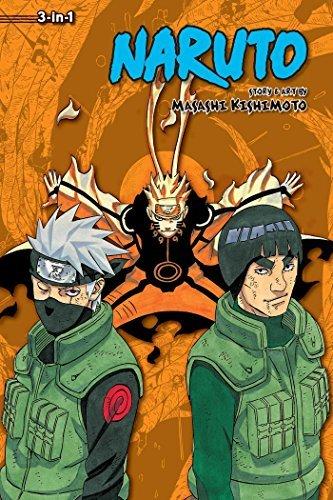 9781421591162: Naruto (3-in-1 Edition), Vol. 21