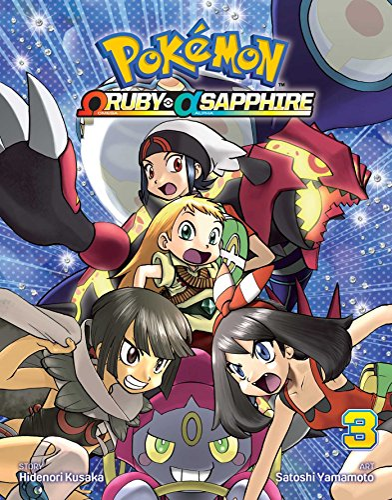 Pokemon Omega Ruby Alpha Sapphire Vol 3
