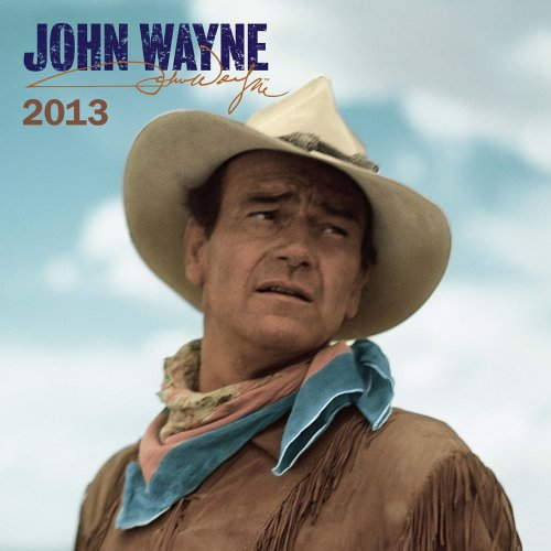 John Wayne 2013 Faces Square 12X12 Wall (Multilingual Edition): Browntrout Publishers