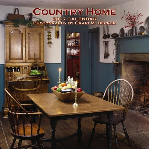 9781421603551: Country Home 2007 Calendar (Multilingual Edition)