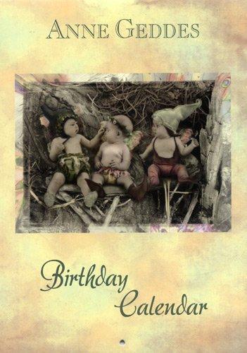 Anne Geddes Birthday Calendar Cover B: Slim