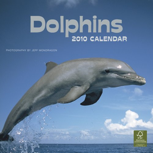 9781421648224: Dolphins 2010 Square Wall