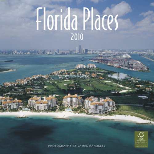 9781421654379: Florida Places 2010 Wall