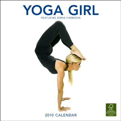 Yoga Girl 2010 Square Wall (Multilingual Edition): BrownTrout Publishers Inc
