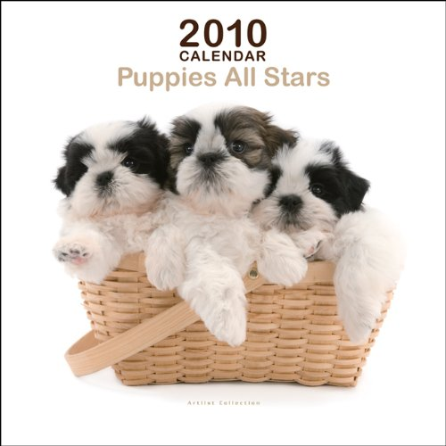 9781421659671: Puppies All Star Mini 2010 Mini Wall ARTLIST