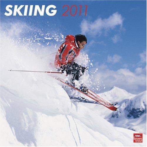 9781421661568: Skiing 2011 Square 12X12 Wall Calendar (Multilingual Edition)