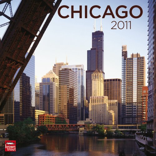 Chicago 2011 Square 12X12 Wall Calendar (Multilingual Edition): BrownTrout Publishers Inc