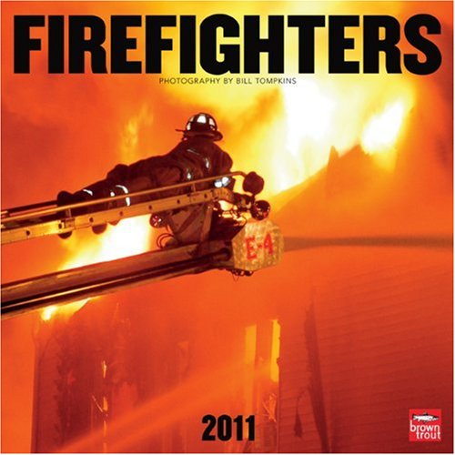 9781421669427: Firefighters 2011 Square 12X12 Wall Calendar
