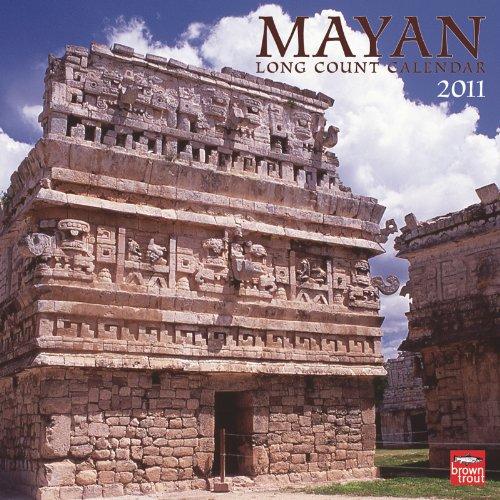 9781421670386: Mayan Long Count 2011 Square 12X12 Wall Calendar (English and Spanish Edition)