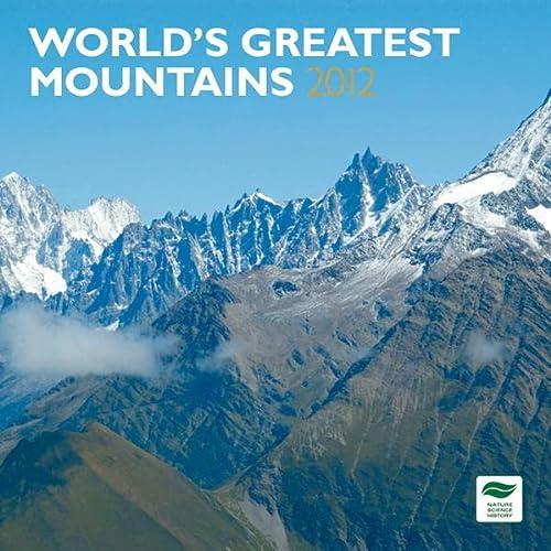 9781421673752: World Mountains 2012 Wall Calendar