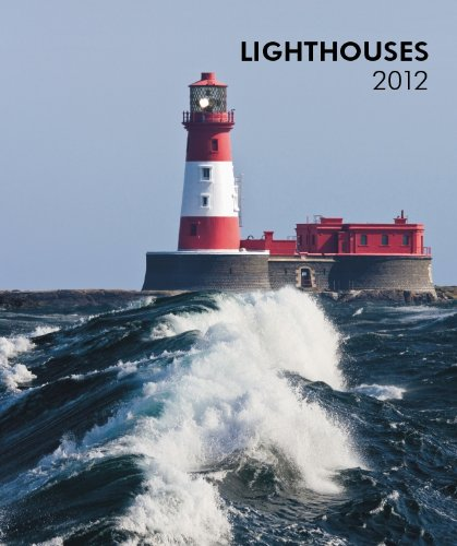 Lighthouses 2012 Hardcover Weekly Engagement Calendar: BrownTrout Publishers Inc
