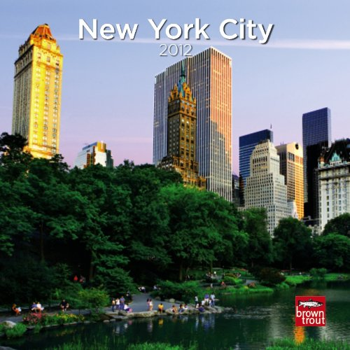 9781421681177: New York City 2012 7X7 Mini Wall Calendar