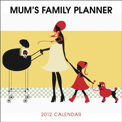 9781421685670: Mum's Plan It Family Planner 2012 Calendar