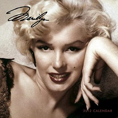 9781421686776: Marilyn 2012 FACES Square 12X12 Wall Calendar