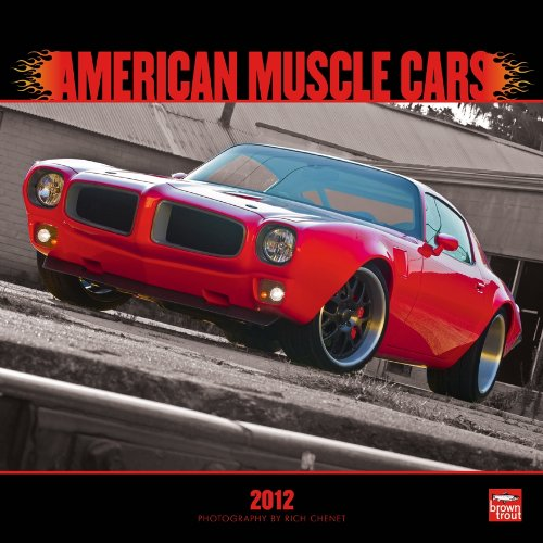 9781421688879: American Muscle Cars 2012 Square 12x12 Wall Calendar (Multilingual Edition)