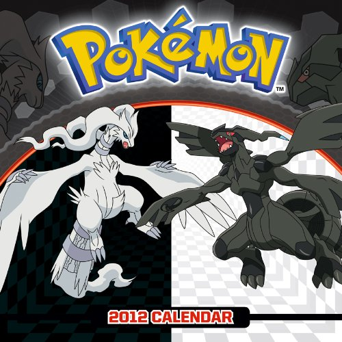 Pokemon 2012 Square 12x12 Wall Calendar: BrownTrout Publishers Inc