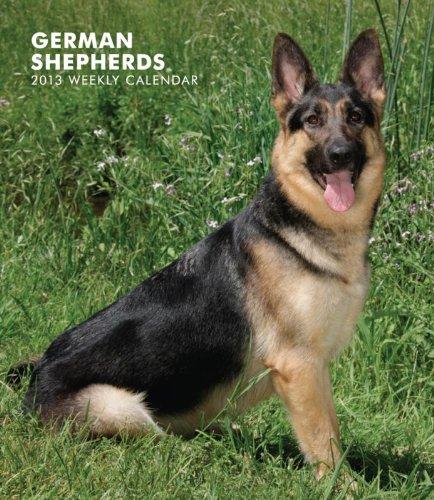 9781421694610: German Shepherds 2013 Hardcover Weekly Engagement