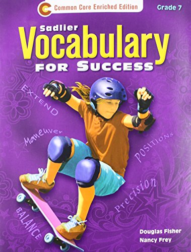 9781421708072: Vocabulary for Success Level B, Grade 7 - Student Edition