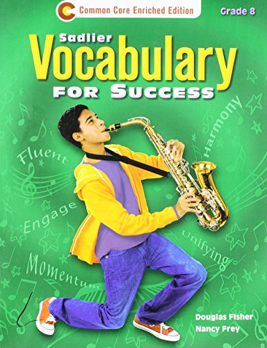 9781421708089: Vocabulary for Success Level C, Grade 8 Student Edition