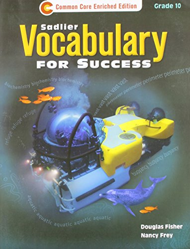 9781421708102: Vocabulary for Success ©2013 Common Core Enriched Edition Student Edition Grade 10