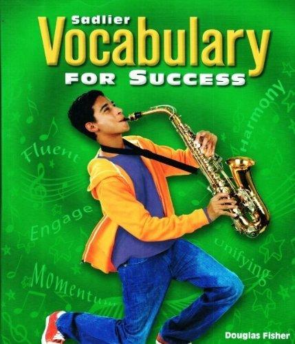Vocabulary for Success Level C , Grade 8 Teacher's Edition: Fisher, Douglas; Frey, Nancy