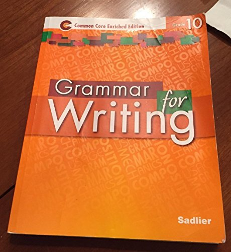 9781421711201: Grammar for Writing Common Core Enriched Edition: Grade 10