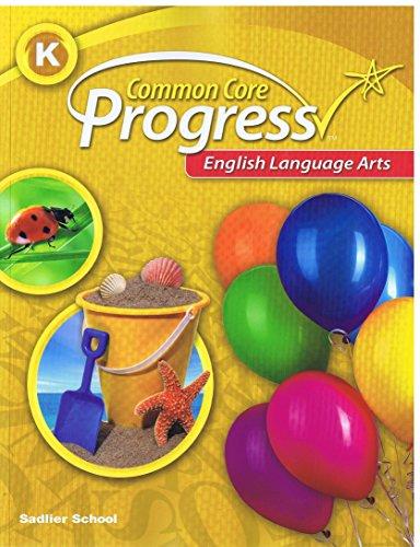 9781421730509: English Language Arts, Common Core Progress, Level K