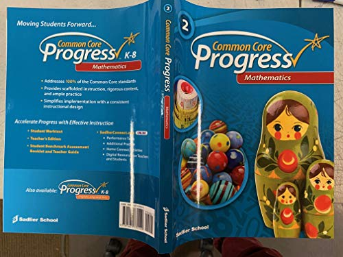 9781421731520: Common Core Progress Mathematics Grade 2