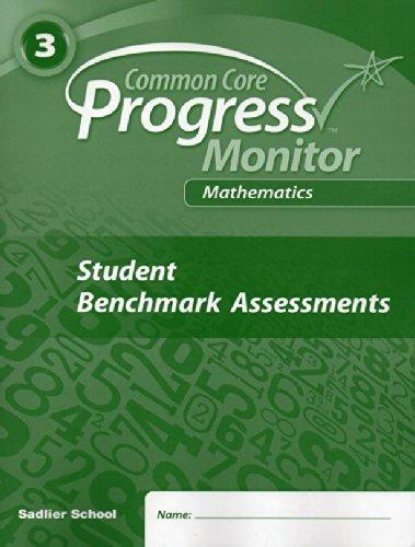 9781421731735: Progress in Mathematics (Common Core Progress Monitor 3rd Grade, Student Benchmark Assessments)