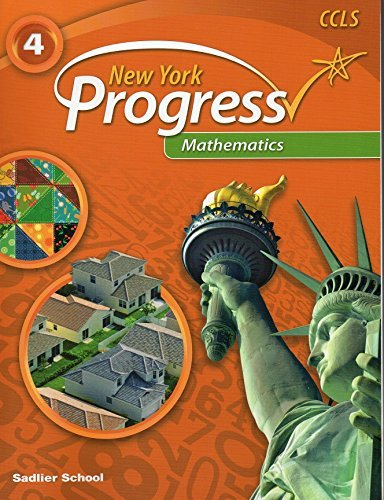 9781421733548: New York Progress Mathematics ©2014 Student Edition Grade 4