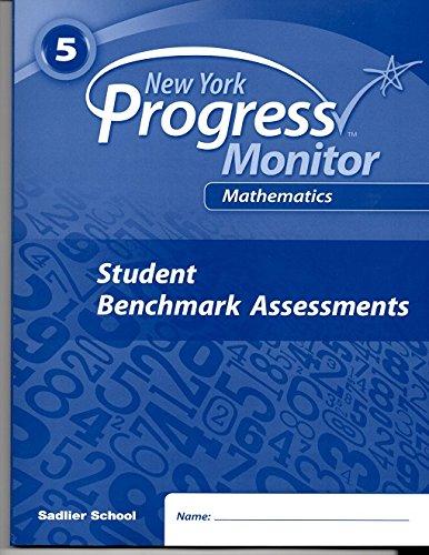 9781421733753: Progress in Mathematics (New York Common Core Progress Monitor 5th Grade, Student Benchmark Assessments)