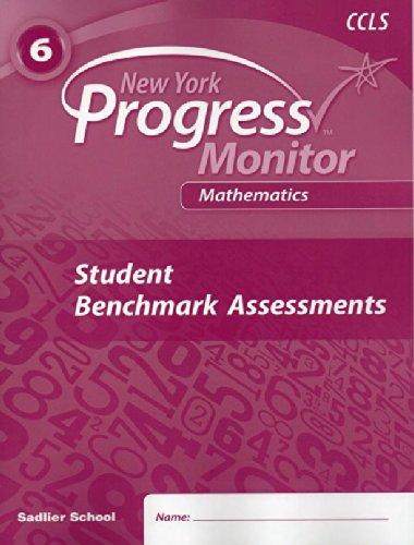 9781421733760: Progress in Mathematics (New York Common Core Progress Monitor 6th Grade, Student Benchmark Assessments)