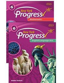 9781421739366: New York Progress English Language Arts and Mathematics Student Worktext Bundle Grade 6