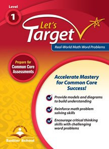 9781421748054: Let's Target Real- World Math Word Problems Student Edition Grade 5