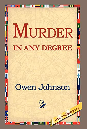 9781421803760: Murder in Any Degree