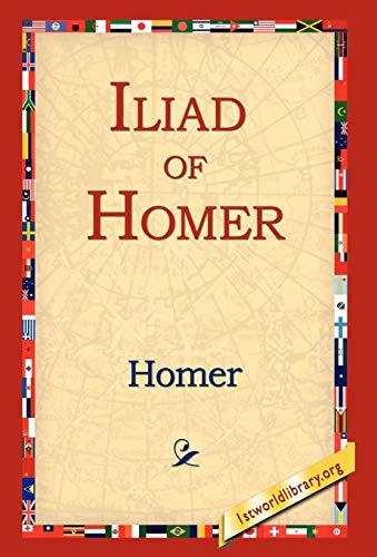 9781421806983: Iliad of Homer