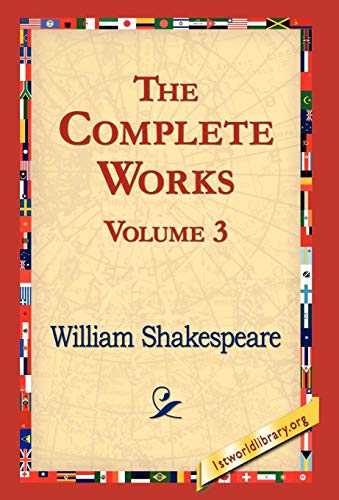 9781421821108: The Complete Works Volume 3