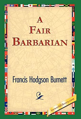 9781421823836: A Fair Barbarian