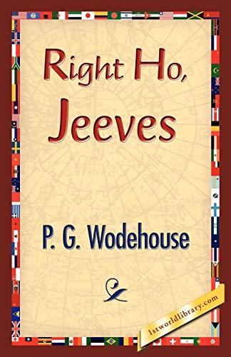 9781421833941: Right Ho, Jeeves