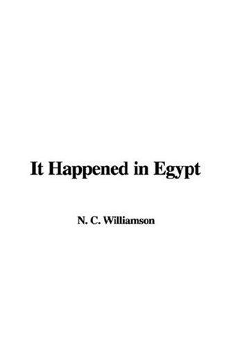 9781421907185: It Happened in Egypt