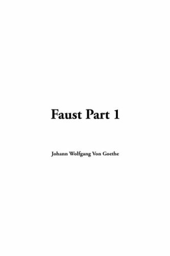 9781421910284: Faust, Part 1
