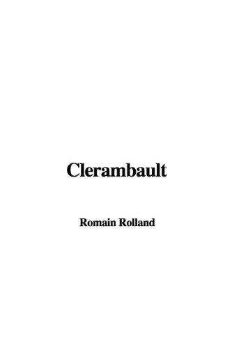 9781421924748: Clerambault