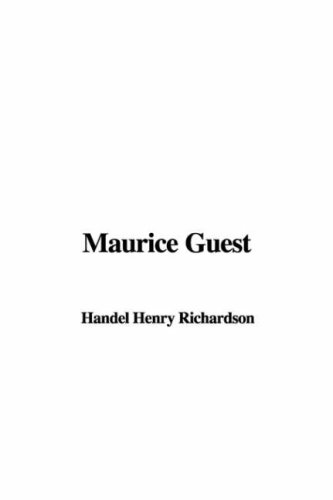 9781421927312: Maurice Guest