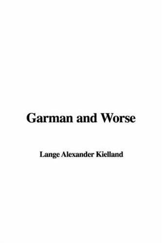 9781421953724: Garman and Worse