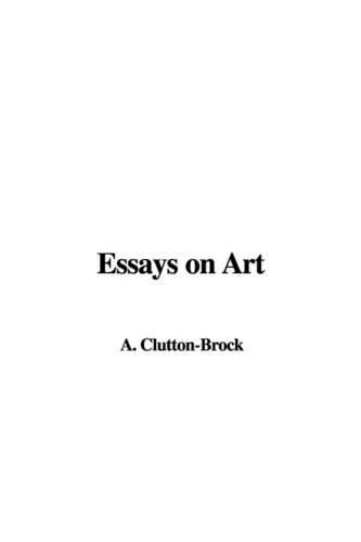 9781421957180: Essays on Art