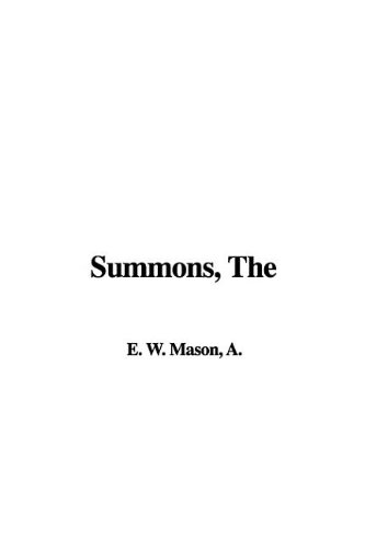 9781421959061: Summons, The