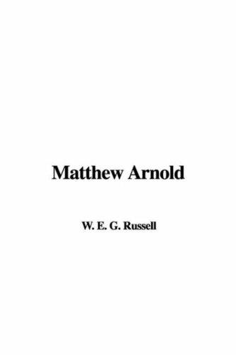 9781421963327: Matthew Arnold
