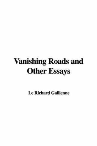 9781421966229: Vanishing Roads and Other Essays