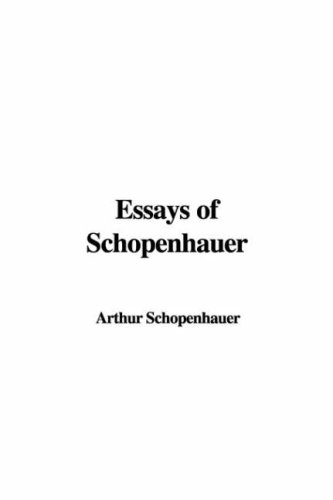 9781421981994: Essays of Schopenhauer